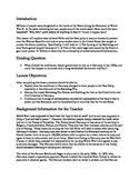 Rise of the Nazis Unit Lesson Plan; Assignments/Activities/DBQs