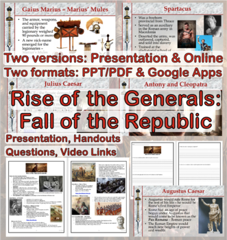 Ancient Rome: Rise of the Generals and the Fall of the Republic