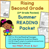 Rising Second Grade Summer Reading Packet (First Grade Review)