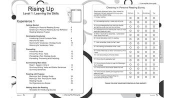 Rising Up:  Literacy Skills Activity Book