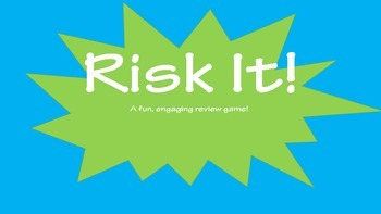 Risk It! Review Game