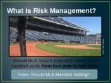 Risk Management and Market Segmenation in Sports & Entertainment