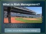 Risk Management and Market Segmenation in Sports & Entertainment