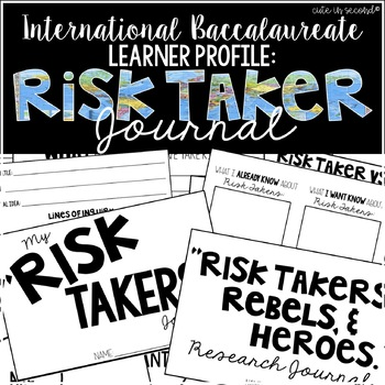 Risk Takers, Rebels, and Heroes Journal