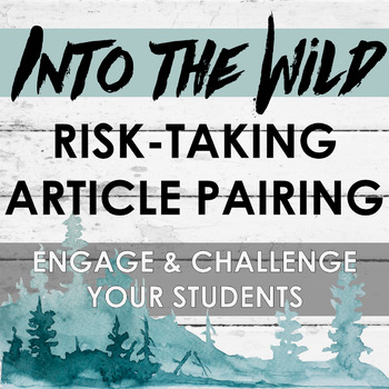 Risk-Taking Non-Fiction Activity for Into the Wild (Perfect for Chapter 17)