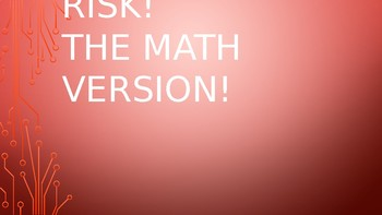 Risk! The Math Version- Review Game