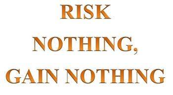 Risk nothing, gain nothing (Vocabulary Game)