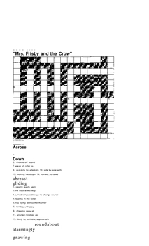 Risks and Consequences OCR2000 crosswords and vocab wkshts