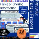 Risks of Sharing Information Interactive for Nevada SS.4.32 using Google Slides
