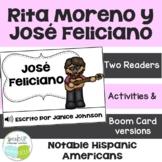 Rita Moreno & José Feliciano Readers {Hispanic Heritage Month} Spanish version