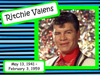 Ritchie Valens: Musician in the Spotlight