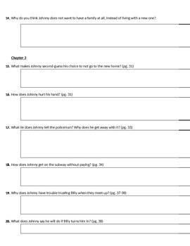 Rite of Passage by Richard Wright Guided Reading Questions