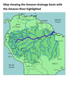 River Amazon Word Search