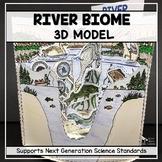 River Biome Model  - 3D
