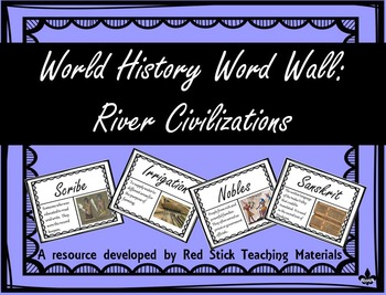 River Civilization Word Wall