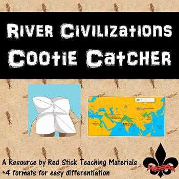 River Civilizations Cootie Catcher