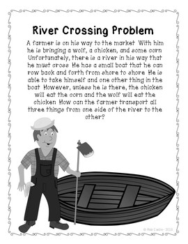 River Crossing Problem - Math Logic Puzzle