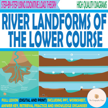 River Landforms of the Lower Course