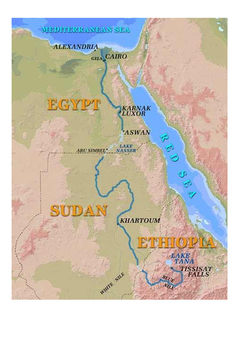 River Nile Word Search