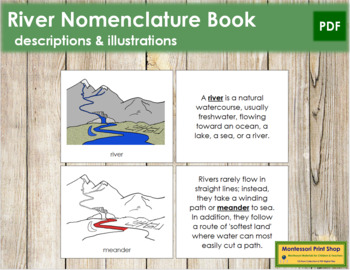 River Nomenclature Book (Red)