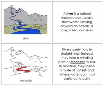 River Nomenclature Book (Red)