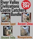 Ancient River Valley Civilizations Activities Bundle