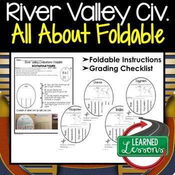 River Valley Civilizations Activity, All About Foldable (Interactive Notebook)