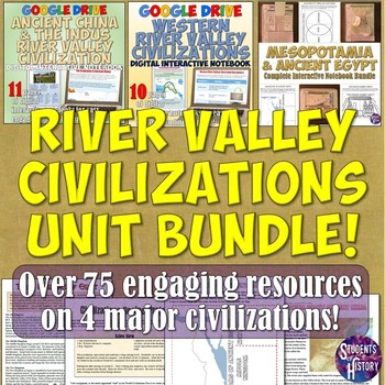 River Valley Ancient Civilizations Complete Unit Bundle