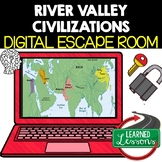 River Valley Civilizations Digital Escape Room, Breakout Room Test Prep