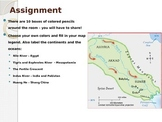 River Valley Civilizations Map PPT
