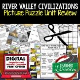 River Valley Civilizations Picture Puzzle Unit Review, Study Guide, Test Prep