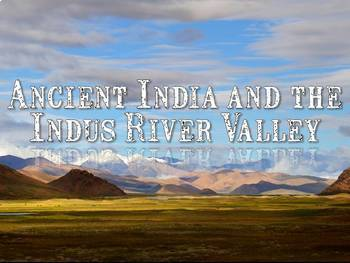River Valley Ancient Civilizations PowerPoint & Guided Notes Bundle