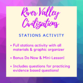 River Valley Civilizations Stations Activity!