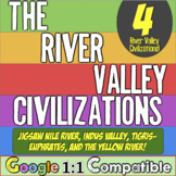 River Valley Civilizations: Students Analyze Mesopotamia, Egypt, India, & China!
