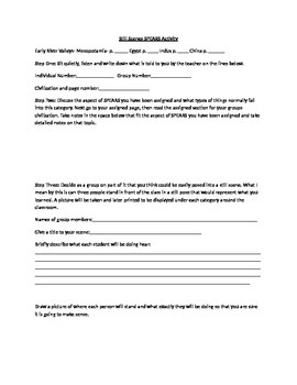 River Valley and SPEARS introduction activity