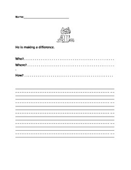 River of Trash- Scholastic Weekly Reader sentence activity