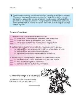 Rivera, Orozco, Siqueiros; Indigenous cultures; 2 units - SP Intermediate 1