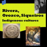 Rivera, Orozco, Siqueiros (1); Indigenous cultures (2) - SP Intermediate 1