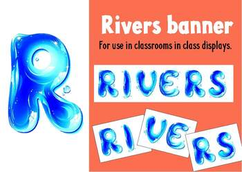 Class display - Rivers Banner