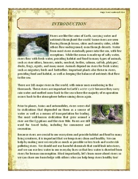 Rivers Themed Nature Education Unit-Stage 2 (Magic Forest Academy)