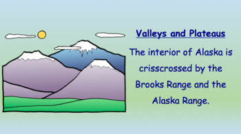 Rivers, Valleys, and Plateaus in Alaska