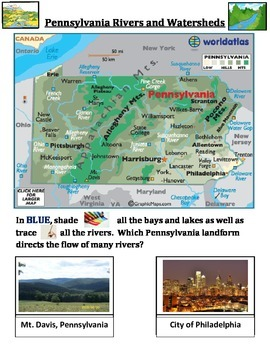 Rivers and Watersheds (Pennsylvania Focused)