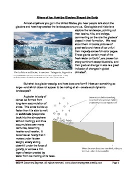 Rivers of Ice: How the Glaciers Shaped the Earth