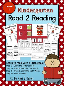 Road 2 Reading Activity Center - Kindergarten {Level 1}