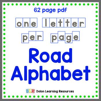 Road Alphabet