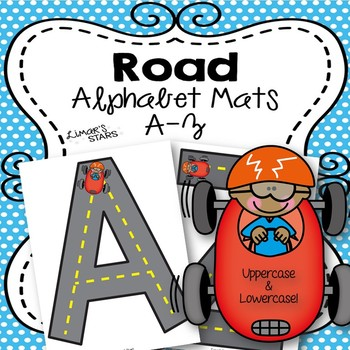 Road Alphabet Mats A-Z {NO DITTOS}