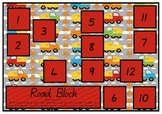 Road Block Roll, Add and Count Game