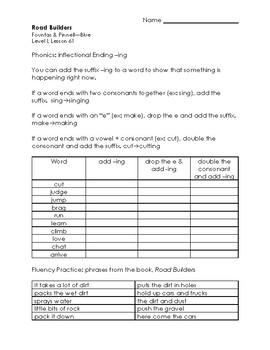 Road Builders - LLI Blue Kit Level I, #61