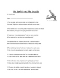 Road Dahl's The Dentist and The Crocodile Poem