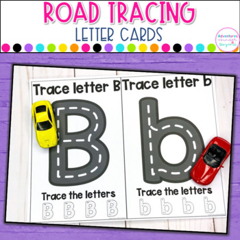 Road Letter Cards